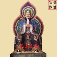 【誉盛法器】供应 玻璃钢彩绘道教神仙天、地、水三官大帝