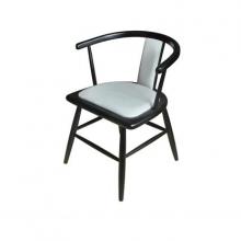 北欧靠背椅甲壳虫椅子,餐厅PU皮餐椅,创意轻奢椅ins椅子网红椅