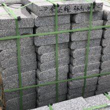 深圳芝麻灰石材厂家直销各种各样芝麻灰机切面路边石 路侧石