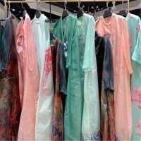 深圳一线品牌特瑞娅19夏真丝桑蚕丝系列女装库存走份批发渠道