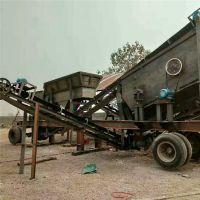 湖北黄石移动石子破碎机 移动式石子粉碎机价位一套在多少