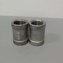 304不锈钢丝扣直通 6分铸件不锈钢直通316L