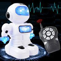 电动万向智能遥控机器人益智早教故事学习机儿童玩具灯光音乐跳舞