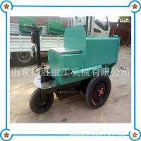 电动三轮灰斗车 养殖场手掀自卸运输车 工地座驾式混凝土工具车