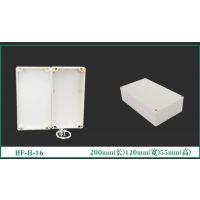 户外接线盒仪表工控仪器分线盒配电箱安防电源塑料外壳注塑cnc机加工防水盒定制