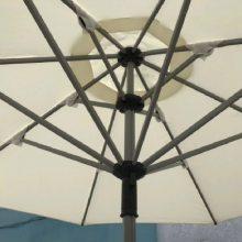 室外大型中柱伞_恒帆建业不易褪色中柱伞_大型中柱伞生产厂家
