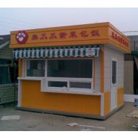 制作带D小吃售货亭价格明细-武汉美食街售货亭选哪种造型-湖南达弘