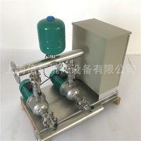 WILO威乐MHI804变频增压泵与普通增压泵区别