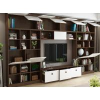河北厂家供应板式三抽大容量组合电视柜 简约现代影视柜 展示柜多 功能储物柜