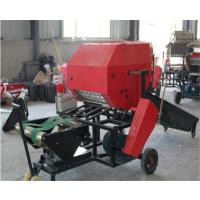 全自动青储保鲜打捆机 养殖秧草秸秆打包机 冬储稻草打捆包膜机