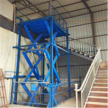 石家庄固定式升降货梯厂 航天电动液压升降机 库房升降货梯 全国安装维修