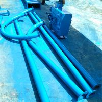 塑料粉管链输送机 304不锈钢管链输送机 粉煤灰管链式输送机