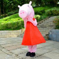 卡通人偶促销赣州科尼卡通服装人偶小猪佩奇K004