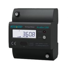供应爱博精电AcuRev 1200 导轨安装式单相电能表,非接触式红外