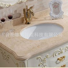 石材洗手盆磨边机 洗手盆内外圆石材磨边机 圆孔加工机