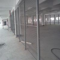 室内隔离网栏 框架护栏网 郑州工厂围栏