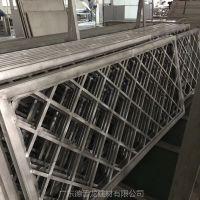 公园改造装饰型材铝窗花屏风 镂空雕刻铝单板隔断