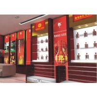 济南酒水烤漆展柜制作-济南红酒烤漆展柜设计与制作
