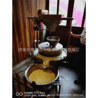 小型家用豆浆磨 杂粮电动石磨机 现林石磨