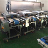 长期供应鲜肉切片机 鸡柳切片机 鸡鸭排切条机产品效率高