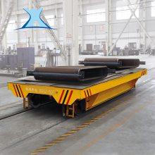 搅拌车生产线轨道平车 大型模具搬运工业机器人电动轨道平车
