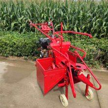 亚博国际真实吗机械 小型玉米秸秆还田收获机 手推式收割机收获机 柴油小四轮玉米收获机