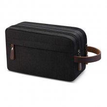 便携条纹化妆包 男士旅行日用品收纳包 防水洗漱包化妆品包定制