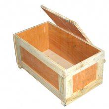 上海奉贤木箱定做,机械设备摸具包装箱,国际物流包装木箱