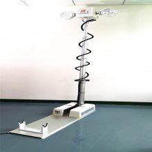 供应曲臂升降照明灯12v1.8M曲臂式升降探照灯