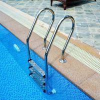 焦作市游泳池扶梯304不锈钢下手扶手厂家直销