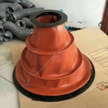 按要求定制 伸缩水泥袋 防火帆布软接 风机防震软连接头