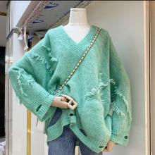 武汉便宜毛衣时尚韩版女装上衣秋季针织打底衫开衫外套便宜