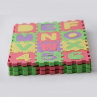 6X6拼图 数字拼图 泡沫字母拼图 地平面拼图 儿童益智地垫玩具