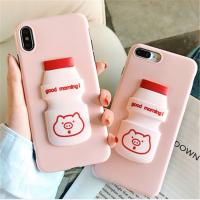 硅胶创意手机壳iPhone保护套滴胶工艺手机创意草莓立体浮雕式外壳