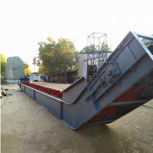 化工粉不锈钢刮板机 鹤岗市粉料刮板输送机 T型链刮板输送机qk