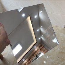 定制亚克力镜子 化妆镜片 舞蹈室镜子 安全塑料镜子