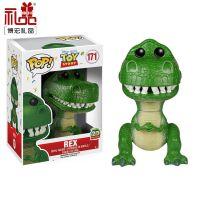 定制博物馆恐龙模型肥猪搪胶机器人玩具Q版塑胶公仔摆件模型手办