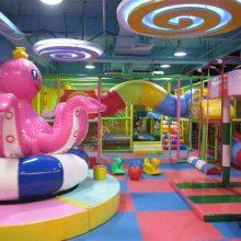 大型室内儿童游乐场 儿童淘气堡乐园 商场超市室内儿童游乐园设备 七彩树 彩虹爬网