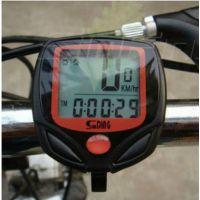 山地车骑行测速度表里程表 ***顺东SD-548B自行车码表配件装备