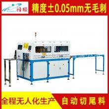 佛山型材切割机 锋顺全自动铝型材切割机 大型铝材切割生产线