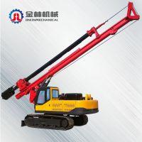 山东省济宁新品促销机锁杆履带式旋挖机 建筑设备液压履带式打桩机