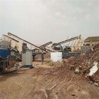 花岗石玄武岩破碎机 恒美百特移动建筑垃圾碎石机厂家