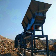 上海高效装修垃圾分拣站 建筑垃圾分离机 建筑装潢垃圾分选机视频