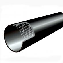 中财管道pe钢丝网骨架管复合管厂家 钢丝网骨架塑料复合管 pe给水管