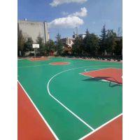 济南耐磨塑胶篮球场施工厂家球场施工新标准