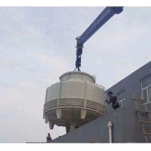 350T高温冷却塔 圆形逆流式冷却塔 高温冷却塔填料 小型冷却塔价格