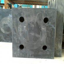 钢结构建筑用橡胶减震垫板价格 桥梁减震橡胶垫块
