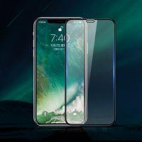 5D苹果钢化膜全屏iphoneX高清保护膜8plus手机贴膜丝印滴胶玻璃膜