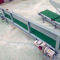 丹东滚筒输送机 铝型材倾斜输送滚筒
