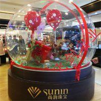 加厚半圆形圣诞球罩婚庆用品装饰圆球生日婚礼布置道具圆球